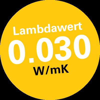 Lambdawert 0-030 WmK