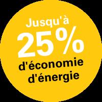 Huber Bautechnik - Save Energy -25%